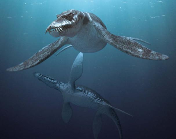 Wassersaurier