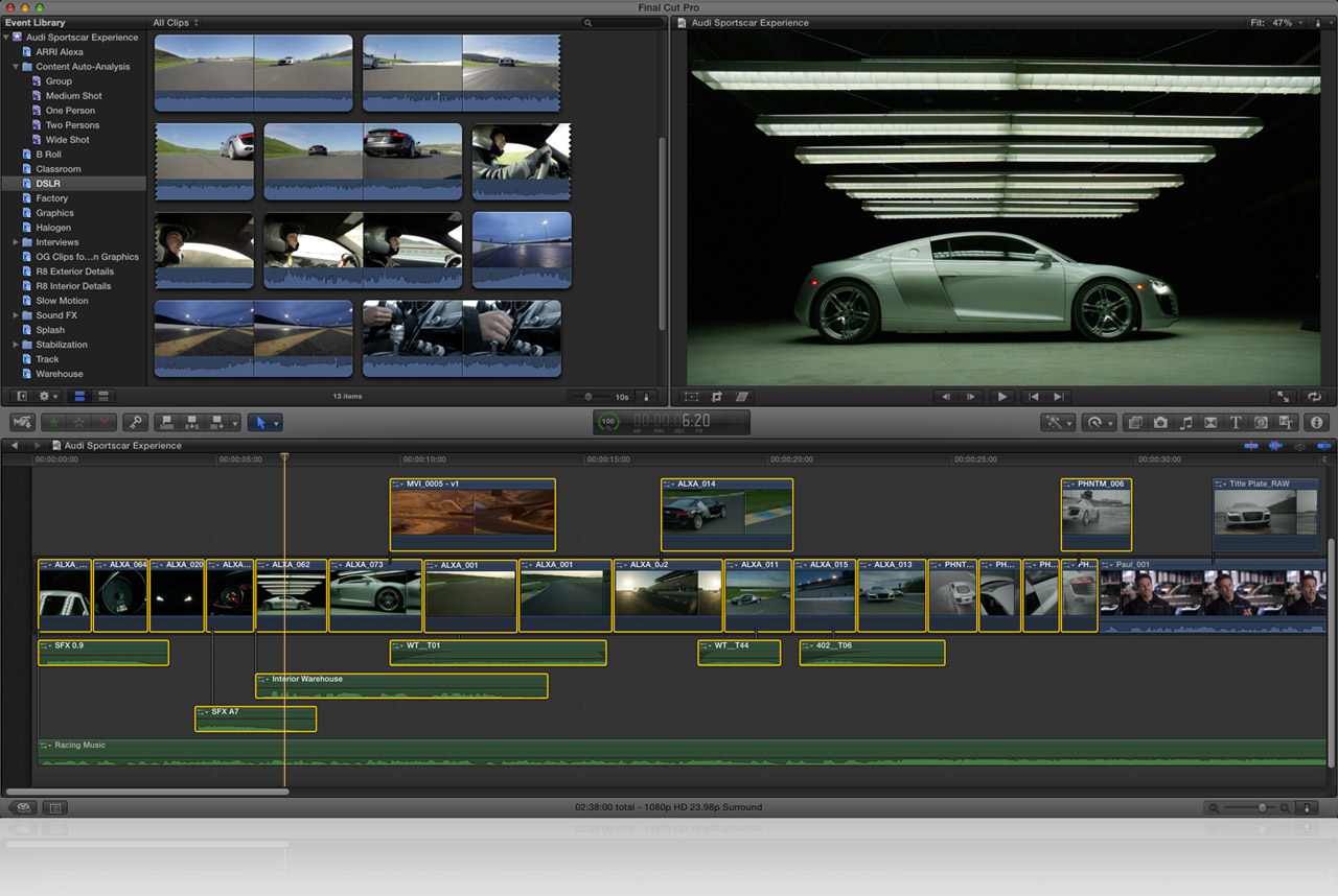 fcp video editor free download