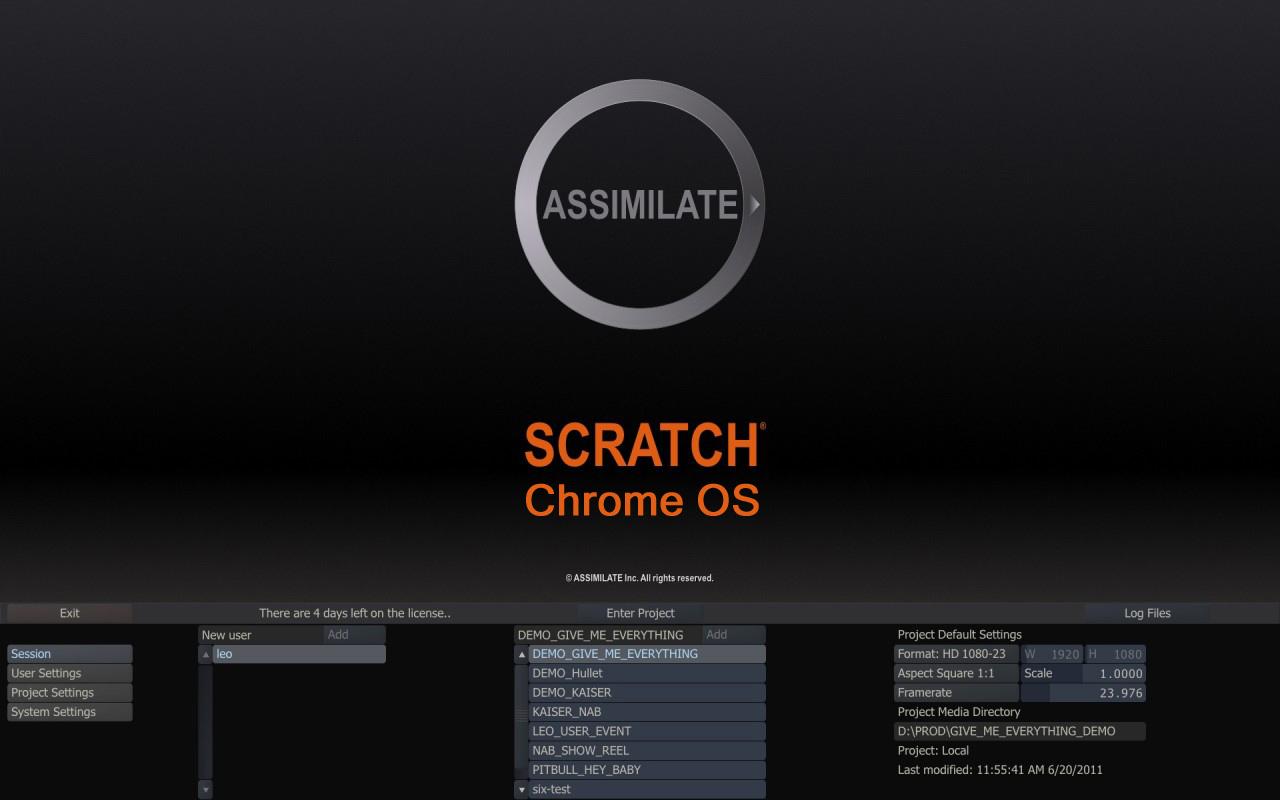 _Scratch on Chrome