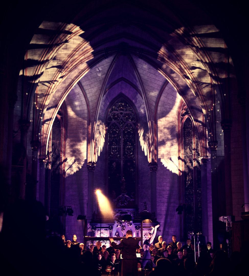 """""""König David"""" – eine eindrucksvolle Chor- Inszenierung"""