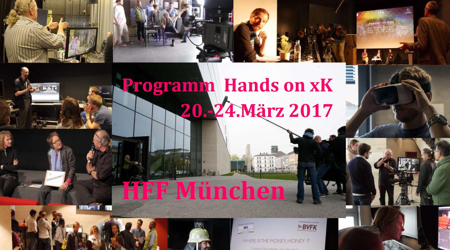 Hands on xK HFF München