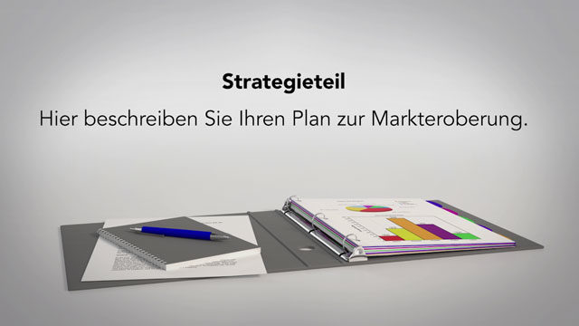 Marketing-Strategie verschriftlichen