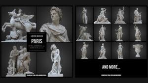 Kostenlose 3D Scans