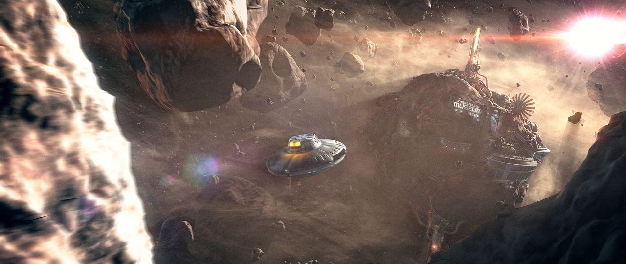 Asteroiden-Feld 2 Aliens