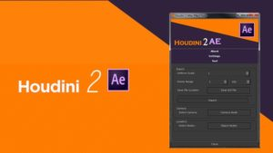 Houdini to After Effects