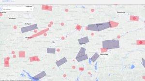 Karte für Drohnenpiloten