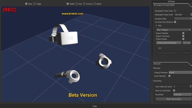 OpenVR Recorder als Beta