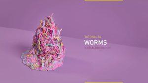 Houdini Tutorial Ezequiel Grand, Pile of Worms