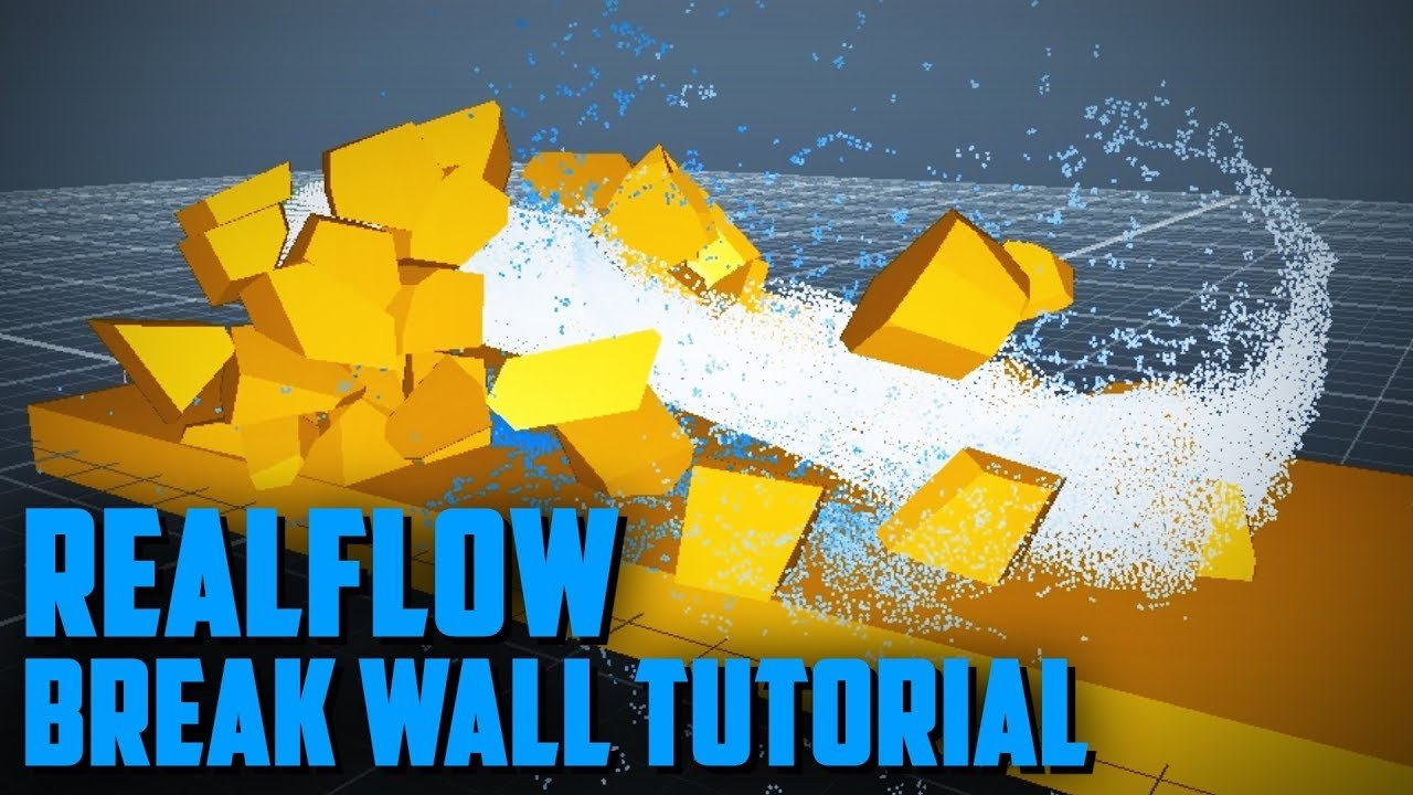 realflow tutorial so zerbrechen sie alles mit fluids. Black Bedroom Furniture Sets. Home Design Ideas