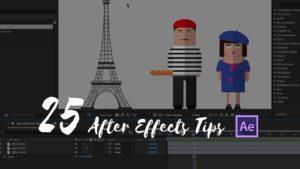 Tipps für Adobe After Effecs