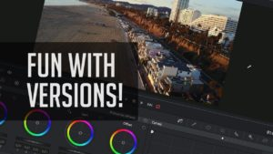 Color Grades in DaVinci Resolve