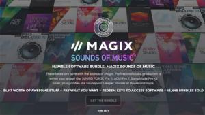 Humble Bundle: Magix Sound of Music @humble bundle