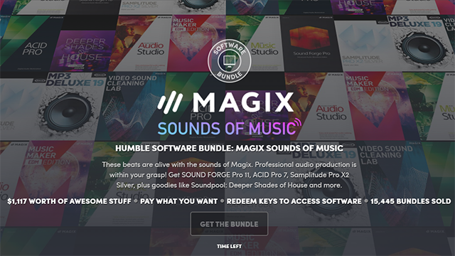 Humble Bundle: Magix Sound of Music @humble bundle