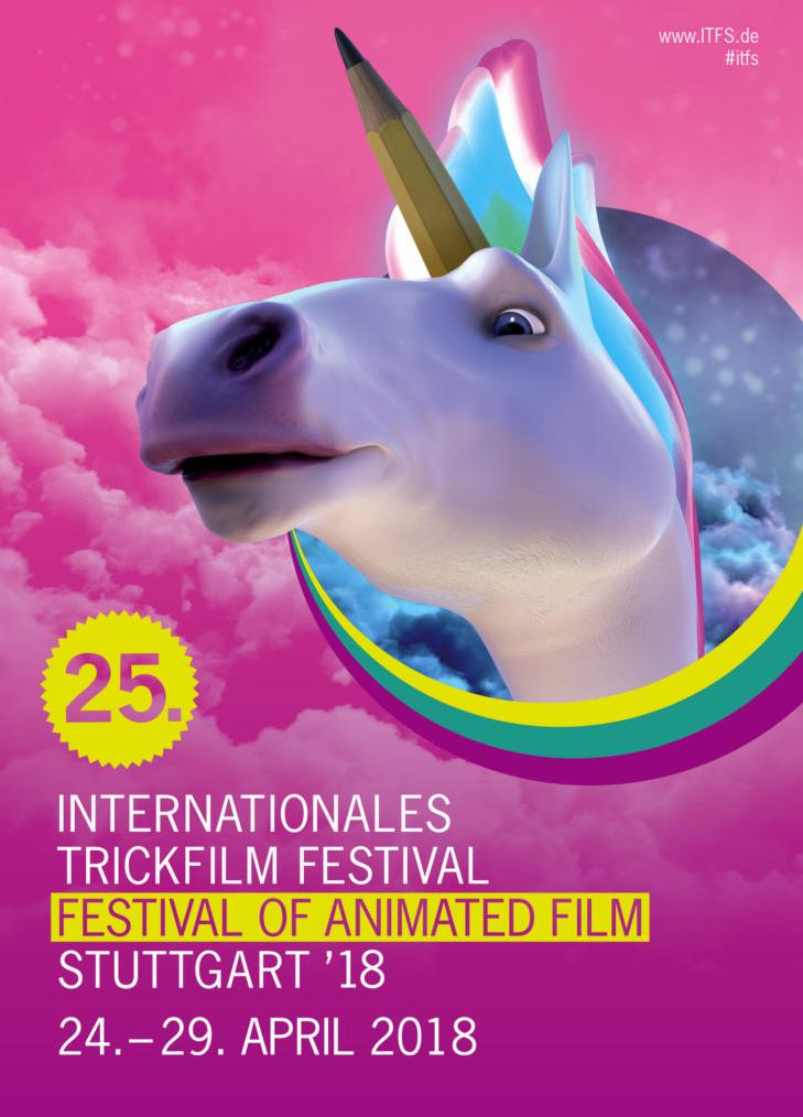 Die ITFS findet dieses Jahr vom 24. April bis zum 29. April in Stuttgart statt. Foto: Internationales Trickfilm-Festival Stuttgart