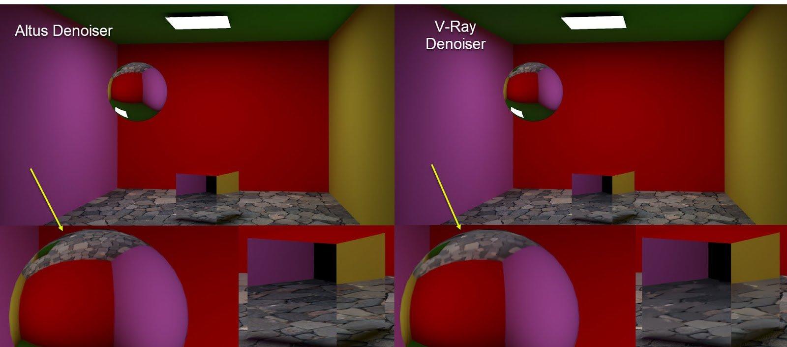 Altus vs. V-Ray: Vergleich