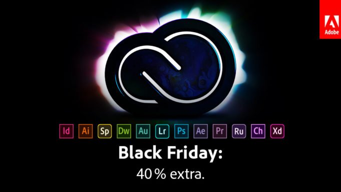 Adobe Creative Cloud - 40% Rabatt