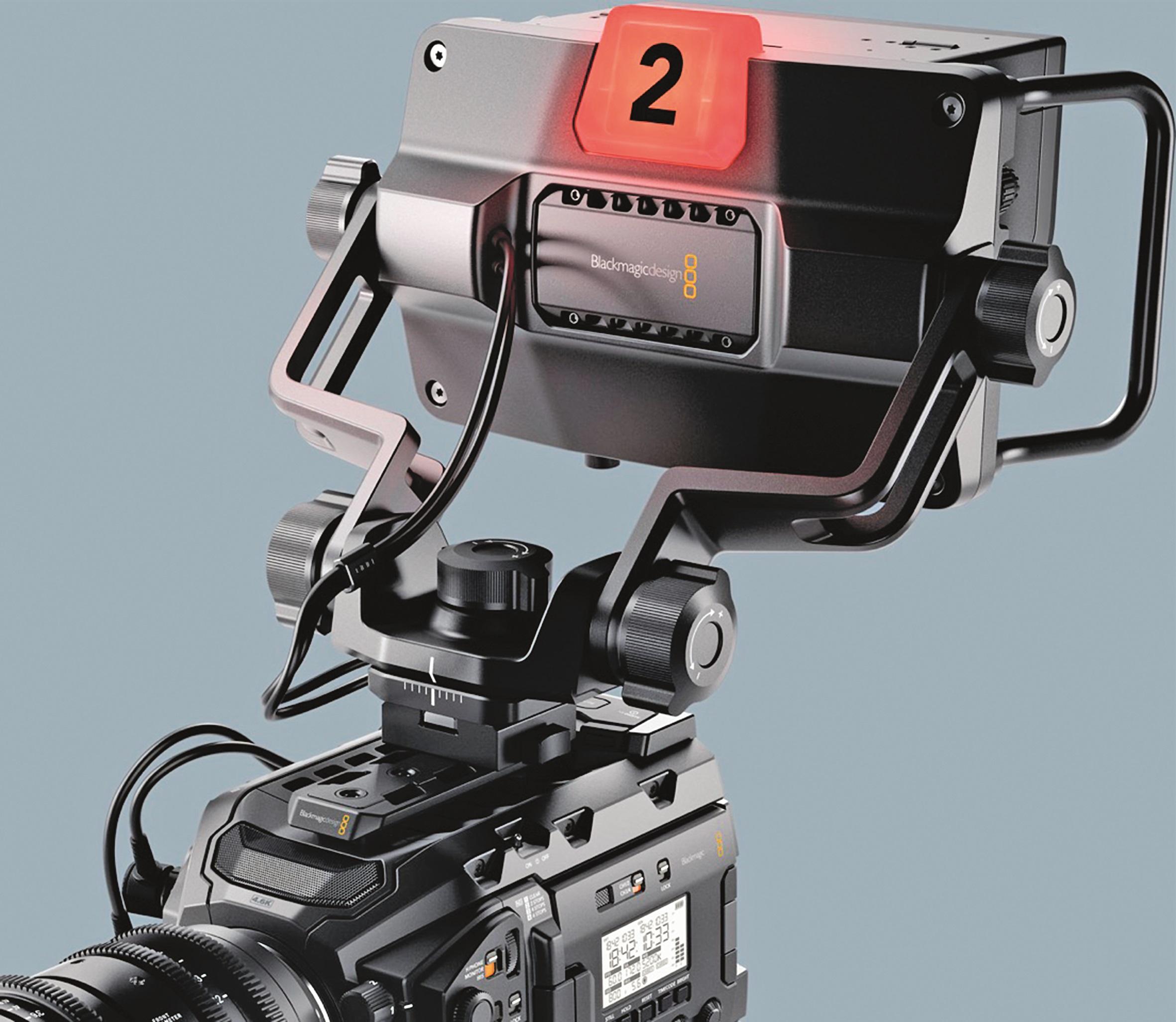 In Kürze soll dieser neue Monitor die Ursa Mini noch zur vollwertigen Studiokamera aufwerten.