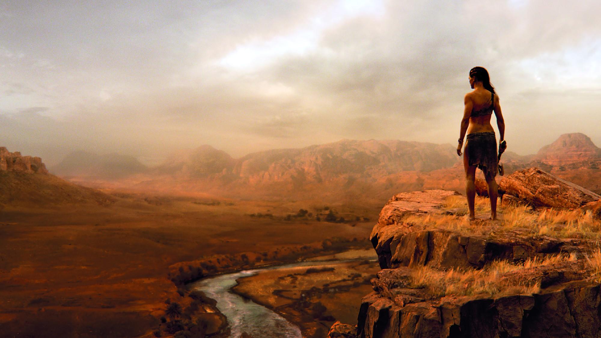 Als reale Referenz für die Landschaft diente die Wüste Jordaniens.