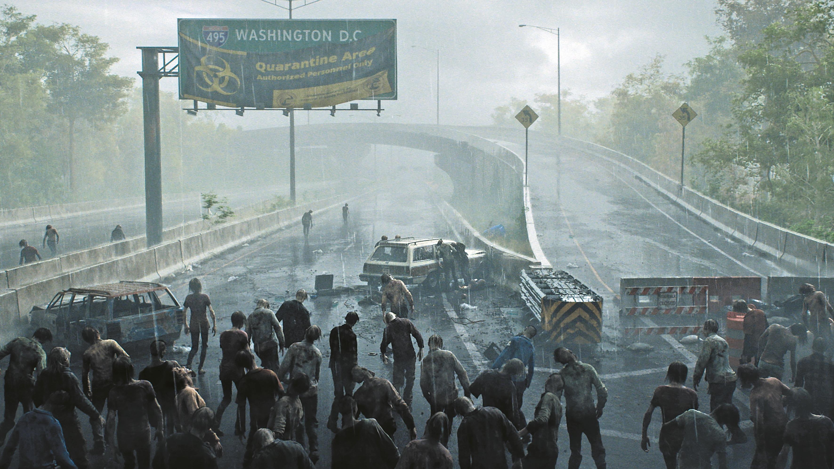 Das Autobahn-Environment basiert auf einer realen Location nördlich von DC, die das Team über Google Maps fand.