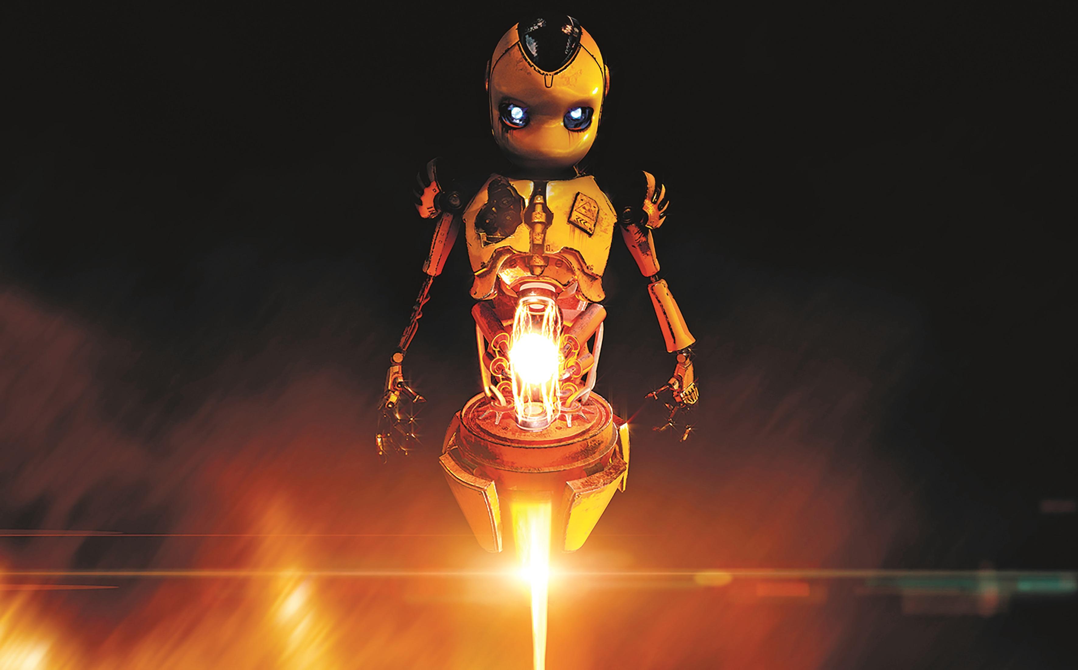 Während des Gameplays reisen die Spieler unter anderem in das Gehirn eines Roboters und sehen eine Welt voller Drähte und Schaltkreise.