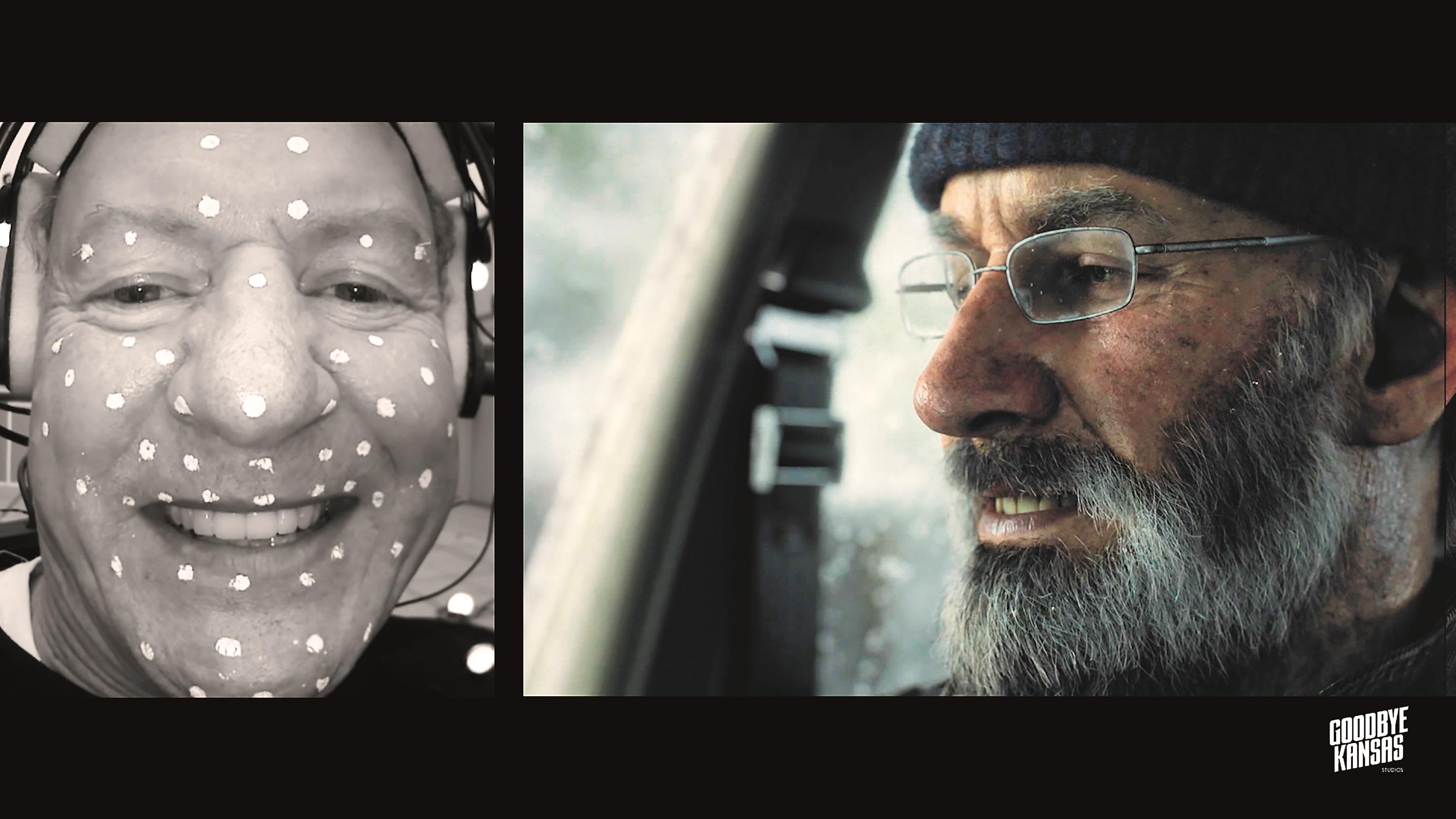 """William Hope, bekannt als """"Lieutenant Scott Gorman"""" aus dem Film """"Aliens – Die Rückkehr"""", spielt Großvater Grant."""