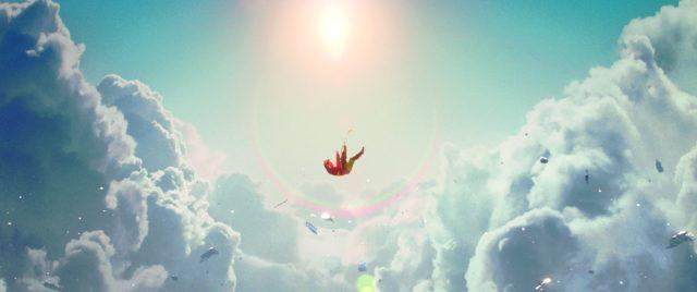 """Dadurch, dass nur die Totalen Full-CG-Shots waren, hielt sich wenigstens der Renderaufwand der aufwendigen Matte Paintings in Grenzen. Alle Fotos für die Wolken entstanden auf Maui, Hawaii – auf demselben Vulkan, wo auch das Footage für den Film """"Oblivion"""" gedreht wurde."""