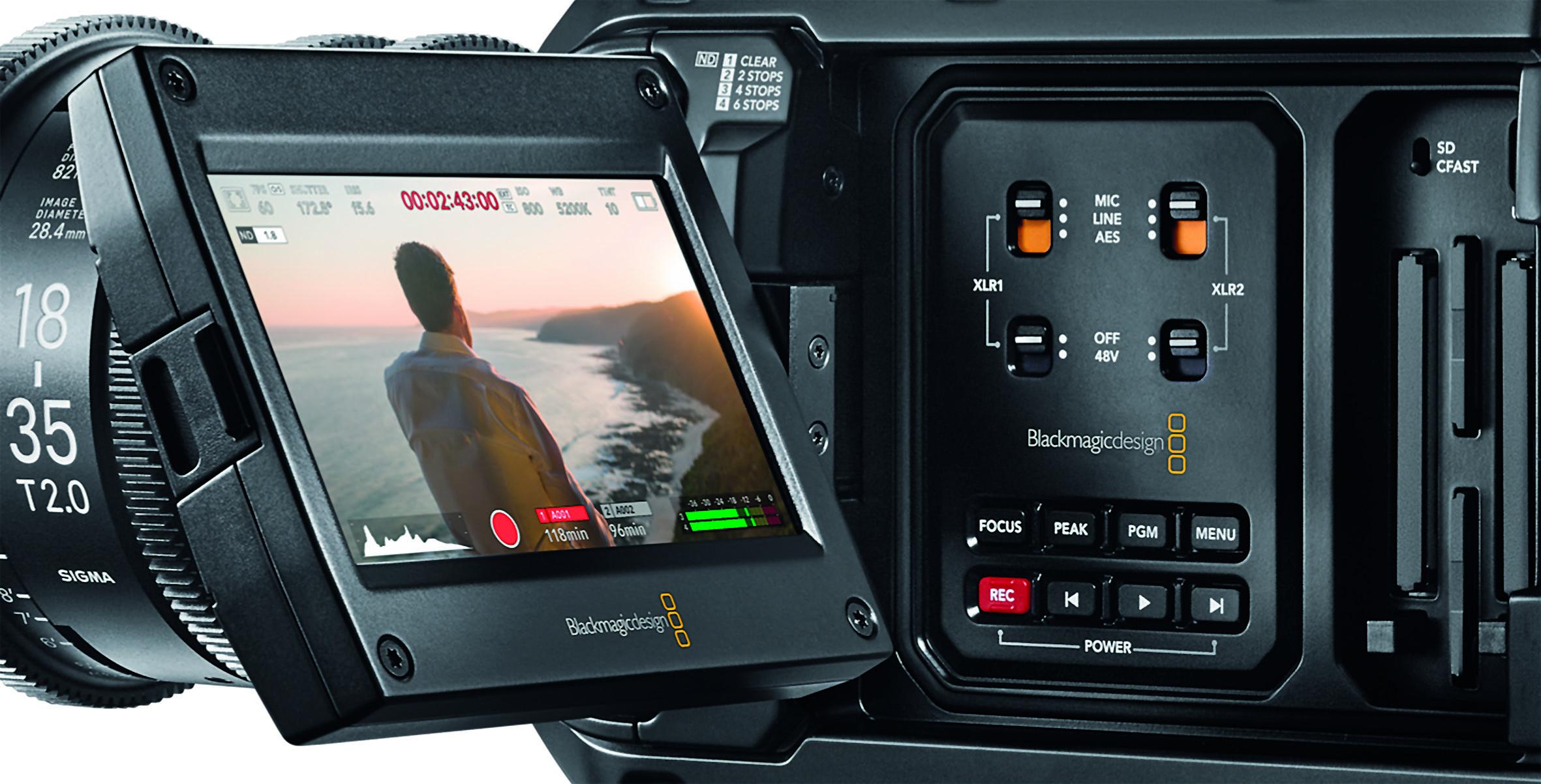 Die Toneingänge bieten professionelle Möglichkeiten, inklusive digitaler Signale.