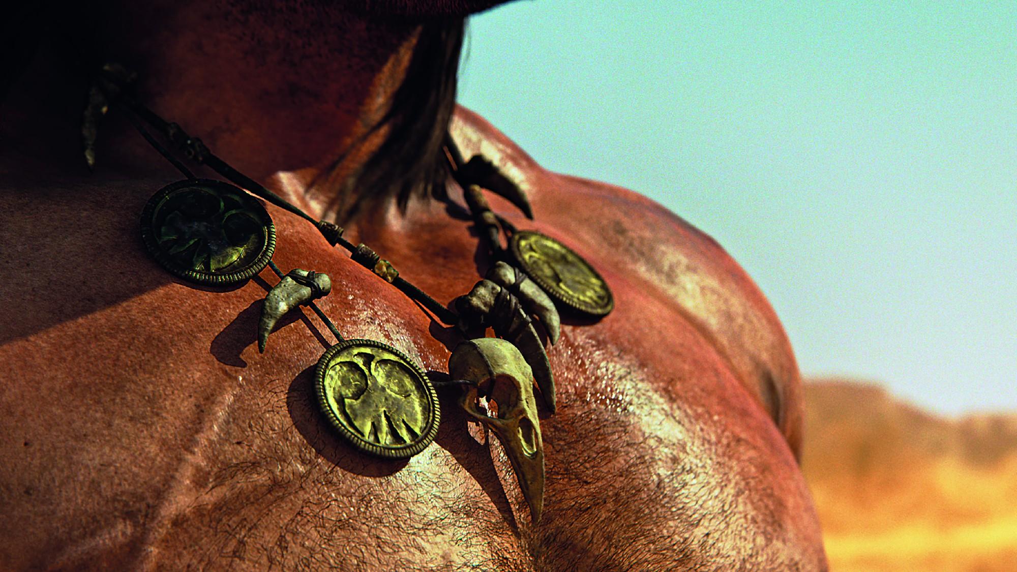 Für einen realistischen Look der Haut arbeitete das Team mit Skin Scattering.