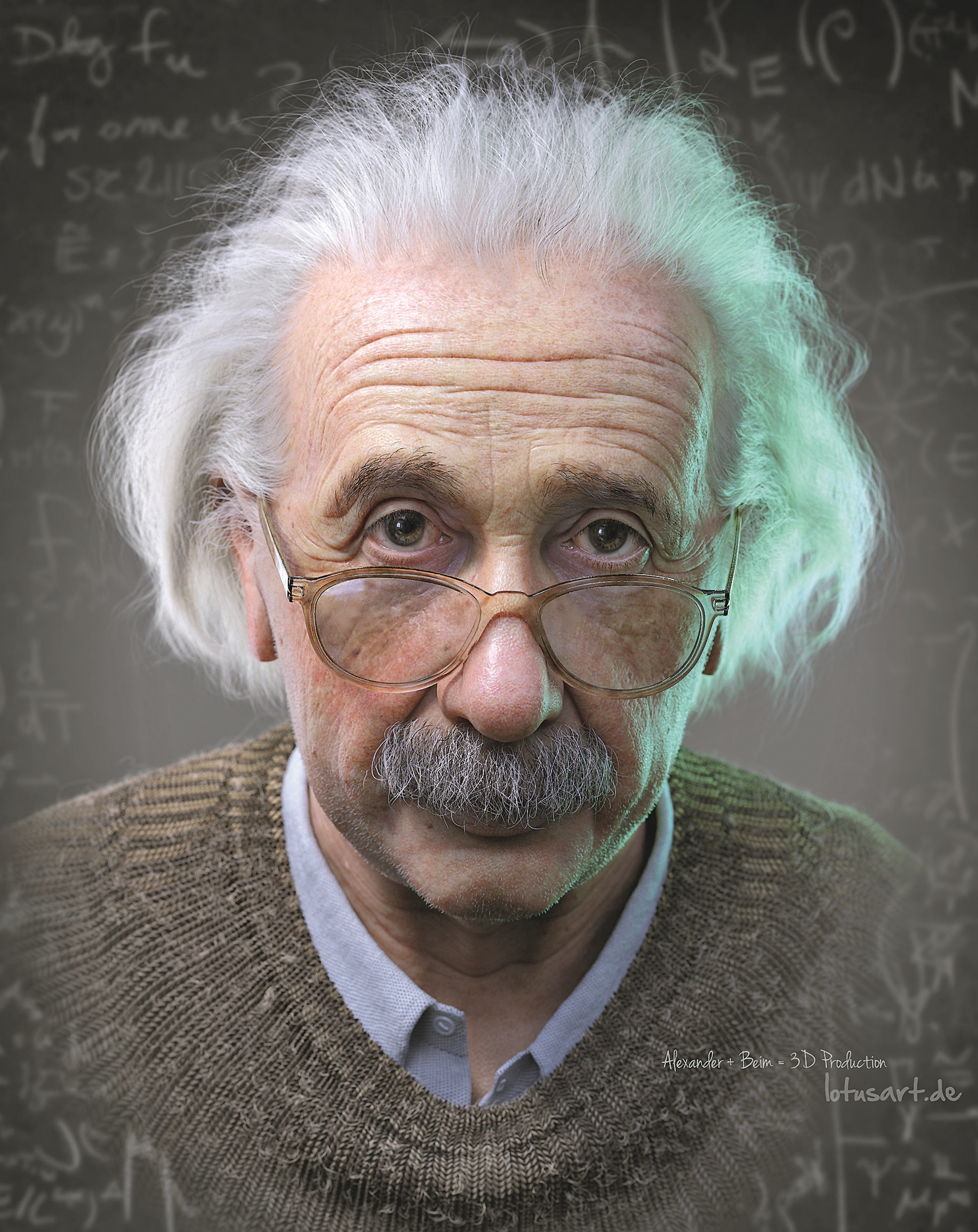 """Winner Best Still: """"Albert Einstein"""""""