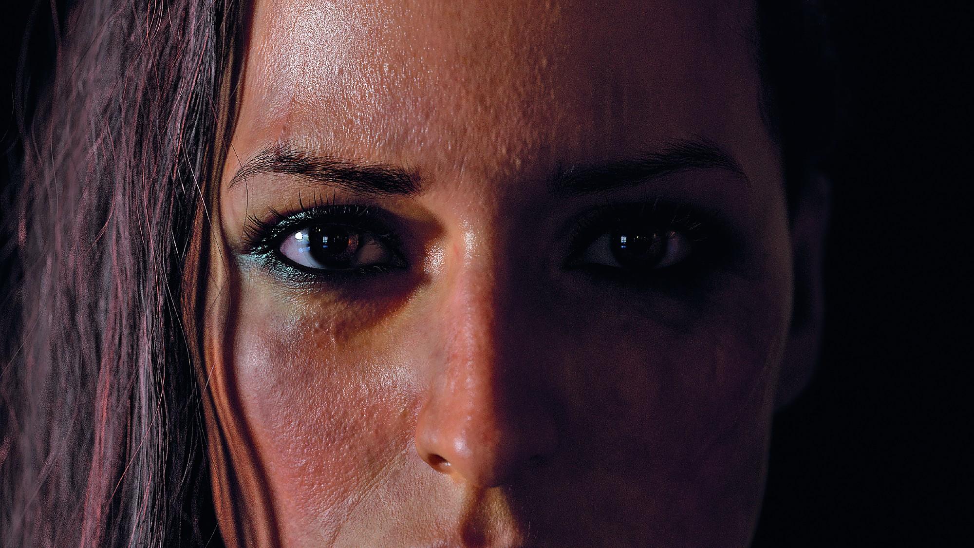 Da im Trailer einige sehr nahe Close-ups zu sehen sind, mussten die 3D-Modelle von Conan und Razma sehr detailverliebt gestaltet werden.