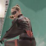Gedreht wurde die Superheldinnen-Szene auf einem realen Dach...