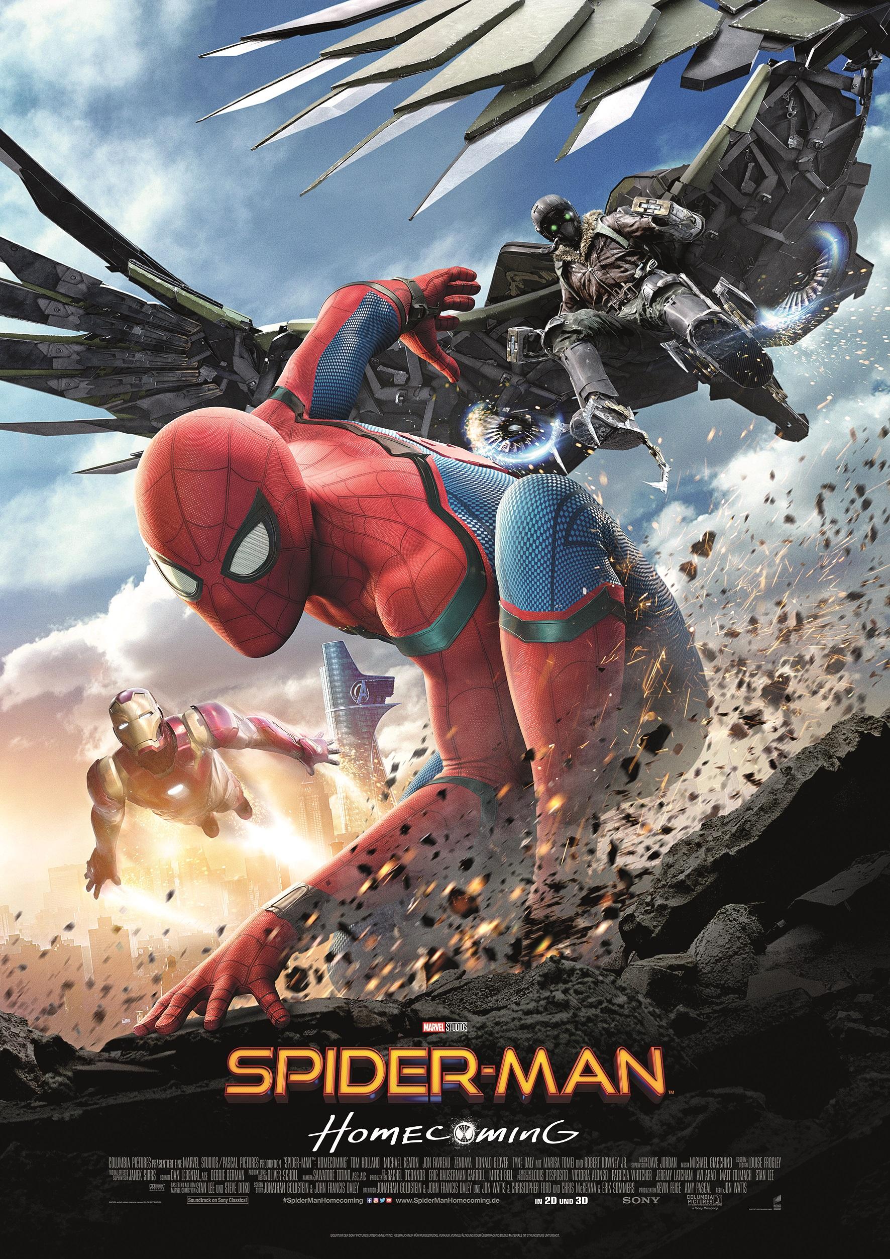"""Eines der, aufgrund der Beteiligung von Trixter für die VFX, jüngst geförderten internationalen Feature-Film-Projekte in Bayern: """"Spider-Man – Homecoming"""""""