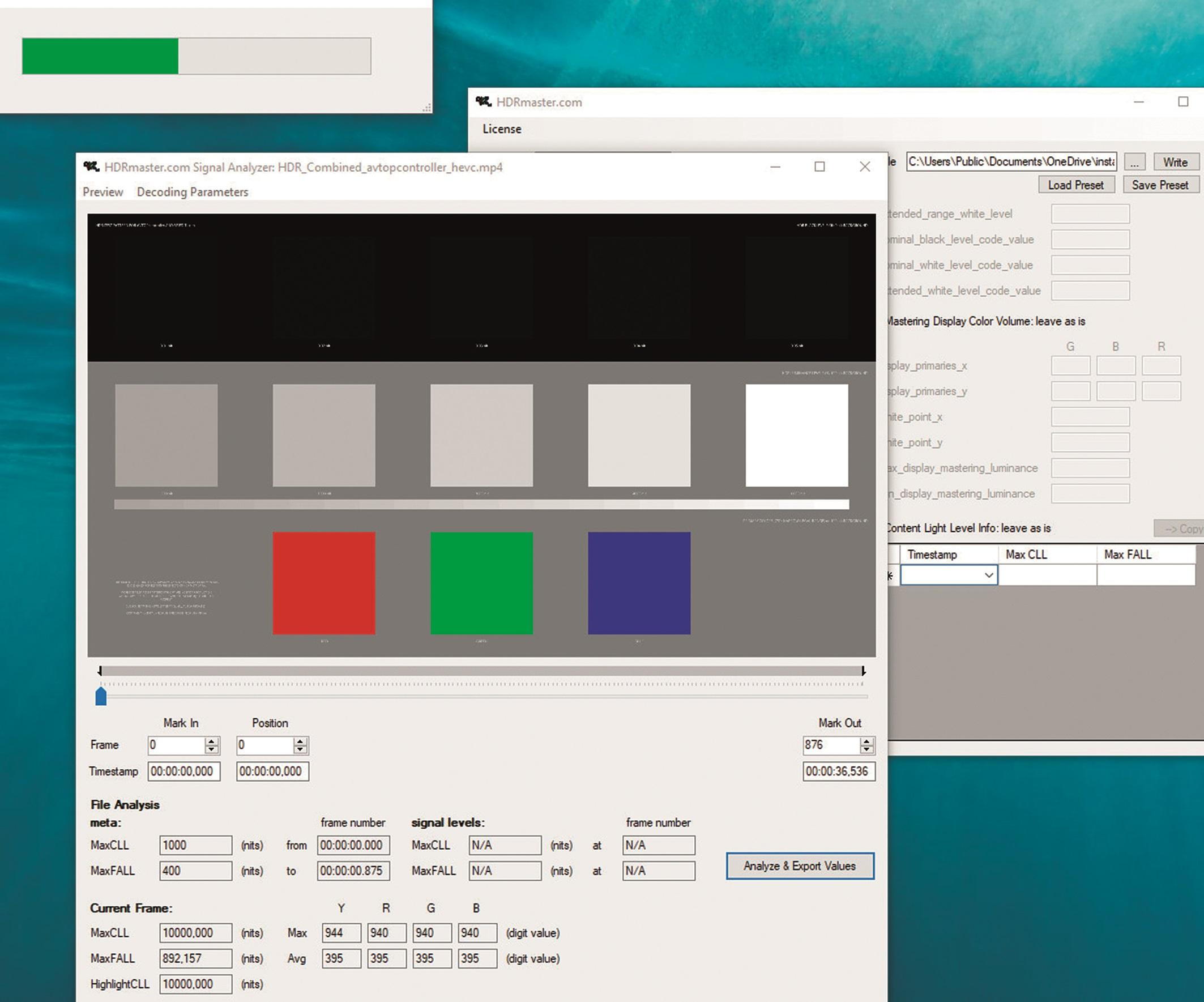 Das hierzu passende DaVinci-Resolve Projektsetup für HDR1O/PQ : Für HDR-Workflows ist es zunächst einmal entscheidend, dass das Color Management auf DaVincis eigenes CM umgestellt wird. Erst danach stehen weitere Funktionen wie ST 2O84 1.OOO Nit zur Verfügung. Dazu splittet man noch die Auswahl auf separate Farbräume und Gamma.