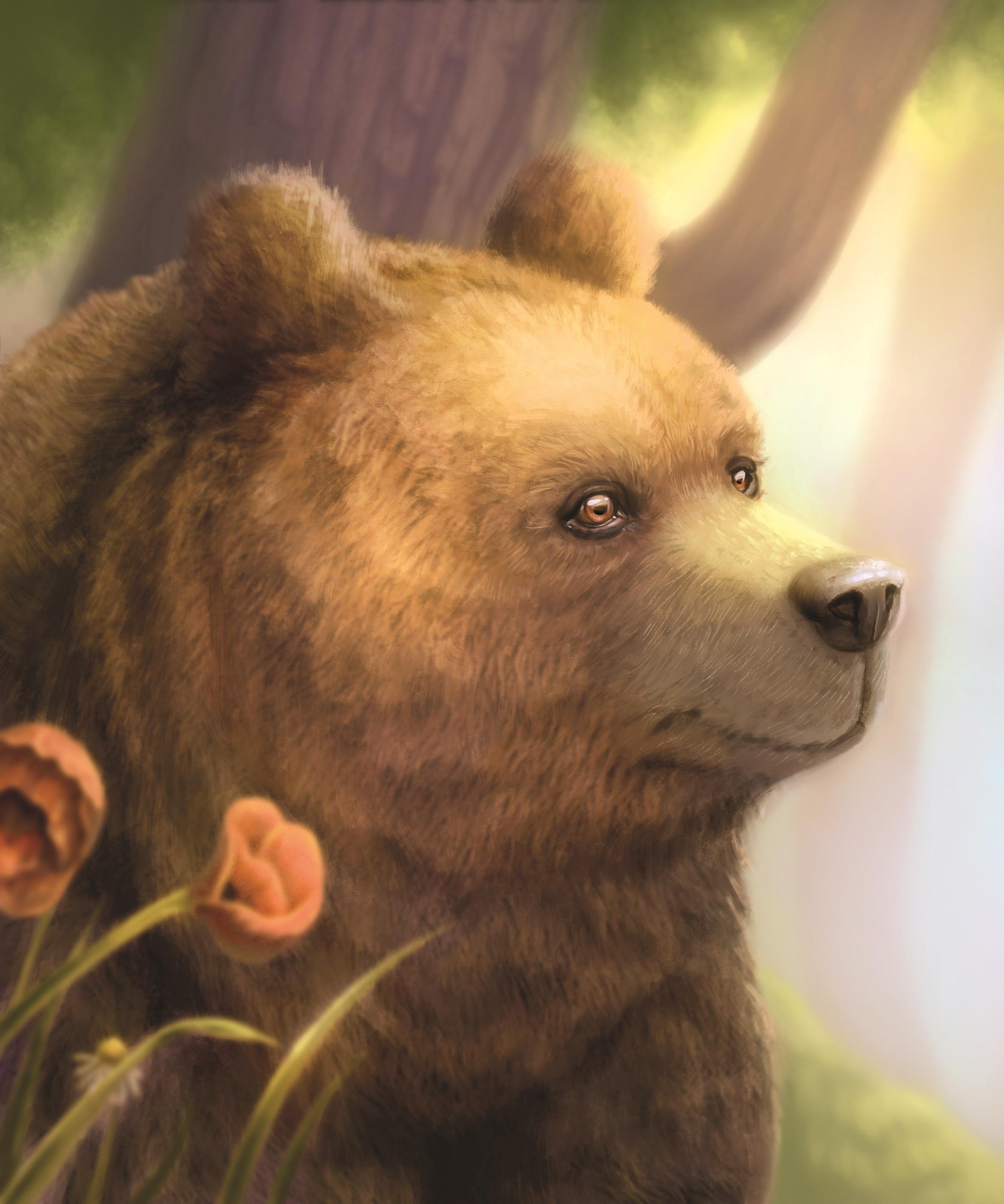 Erstes Konzept unseres Bären