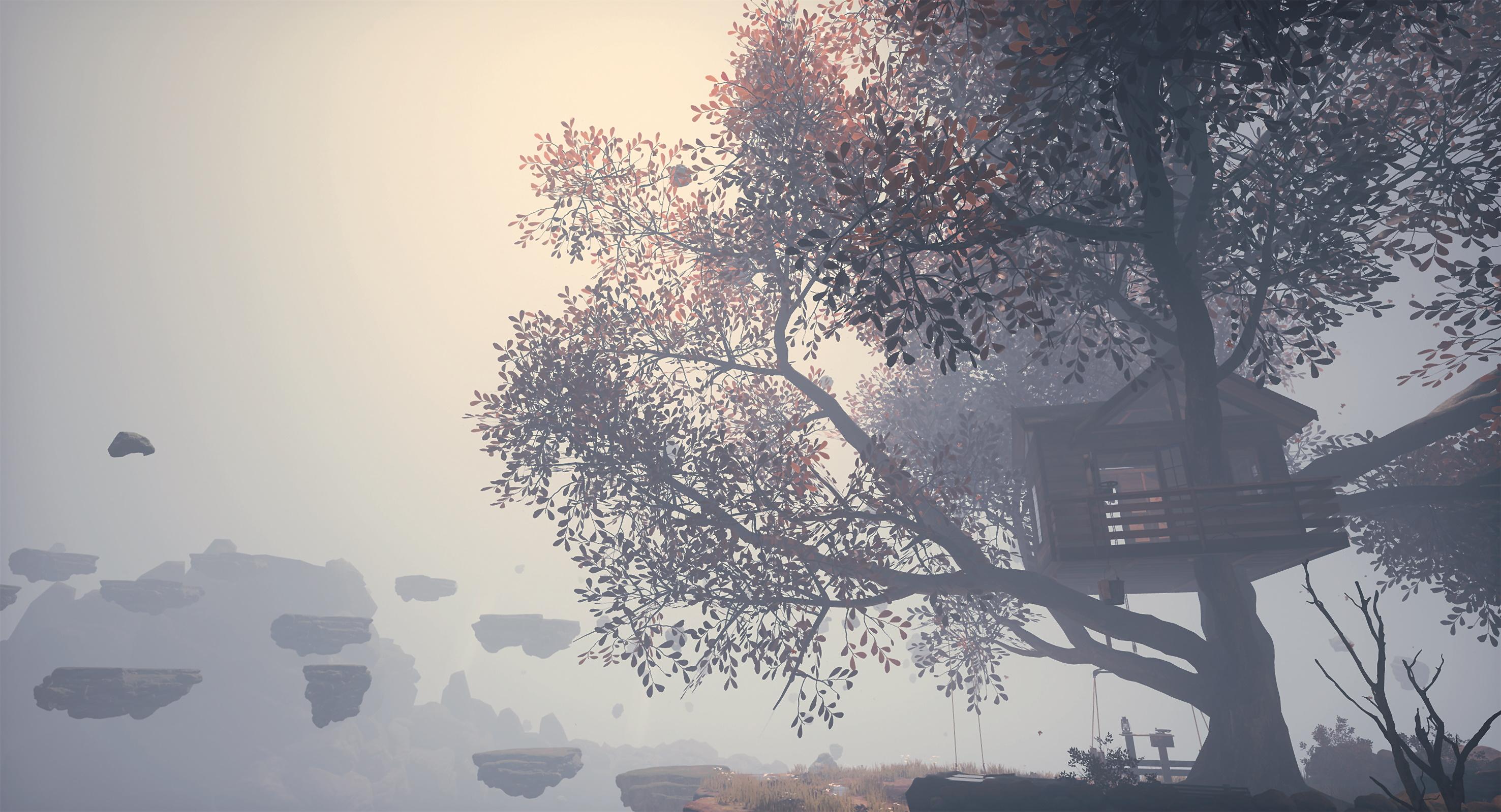Abb. 18: Das Generieren eines Baumes, angepasst an ein bereits existierendes Baumhaus, mit Speedtree