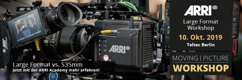 ARRI Large-Format Workshop | Teltec Berlin