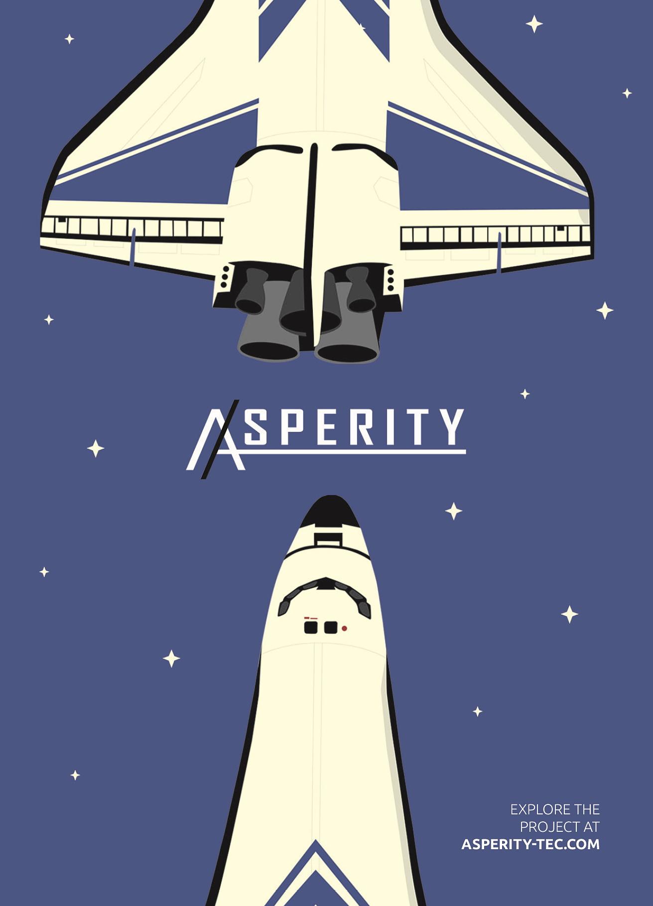 Asperity's Corporate Design: Neben Website und Logo wurden auch Postkarten designt.
