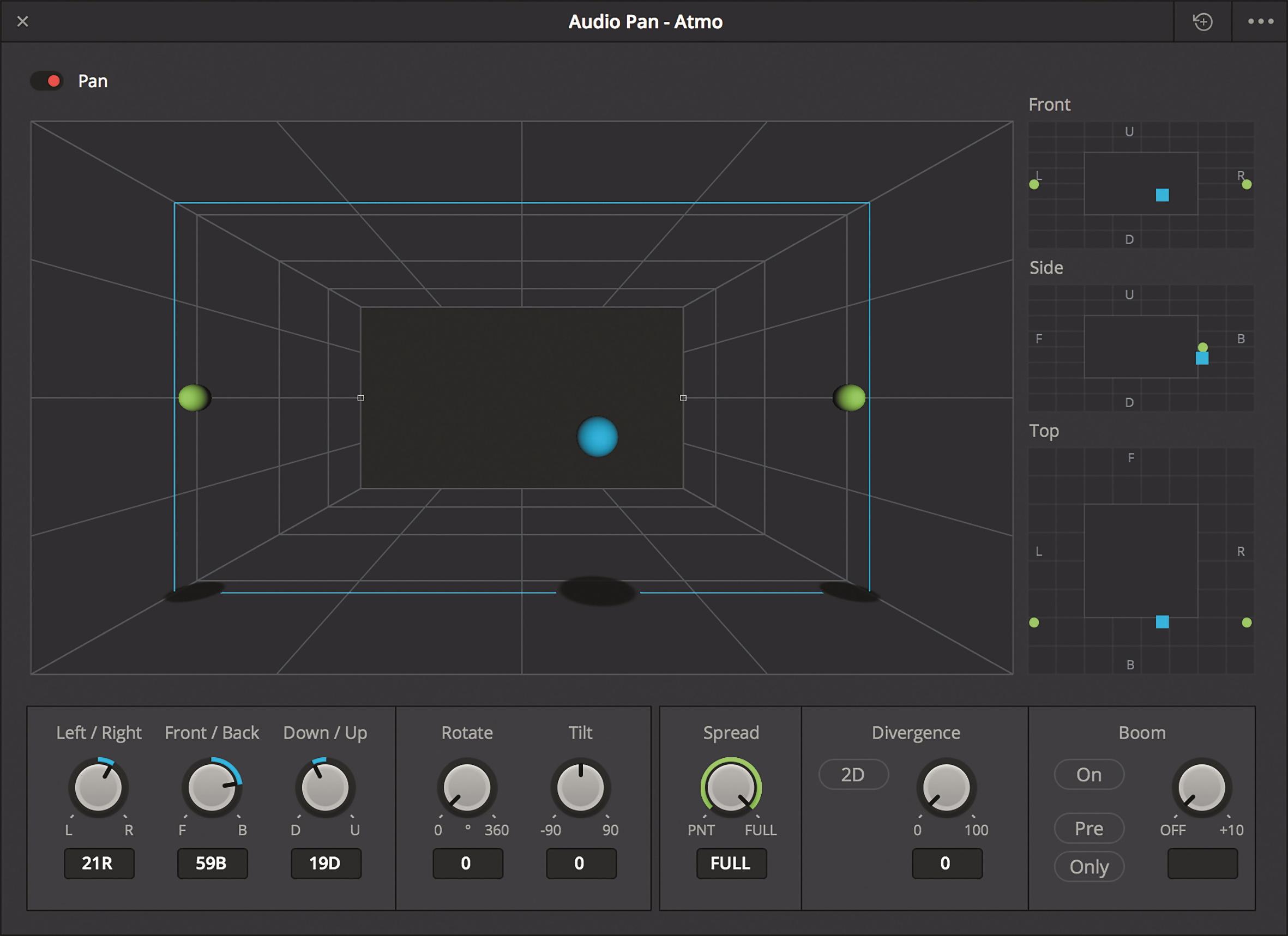 Immersive Formate brauchen auch ein neues Interface zur Positionierung.