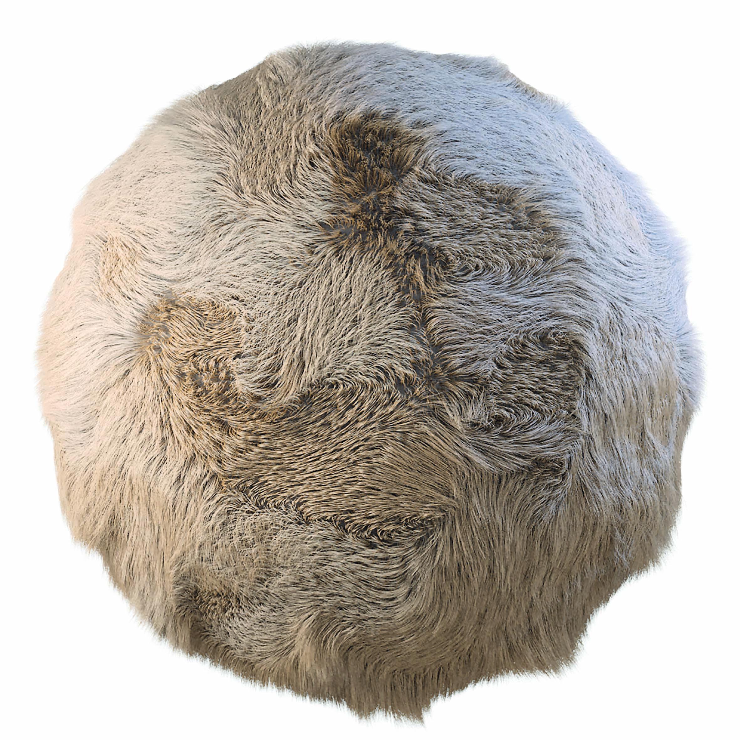 Lightwaves Material für Haare verwendet verschiedene Farbwerte und Specular-Shader.