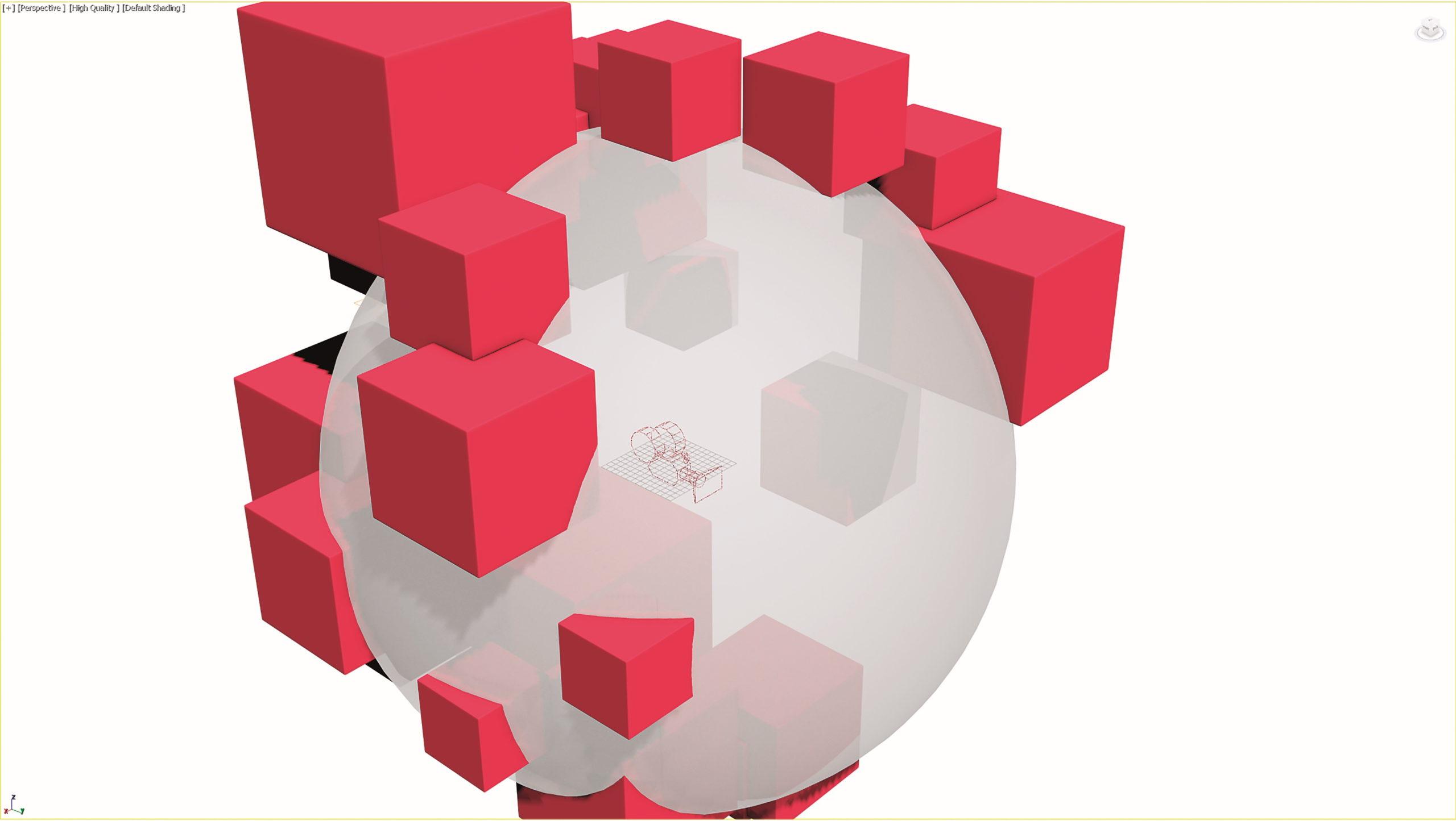 Die eigene Bühne und Beleuchtungsanlage lässt sich in einer eigenen Arnold-Szene realisieren. Für das Rendering wird eine Arnold Spherical Cam benötigt.