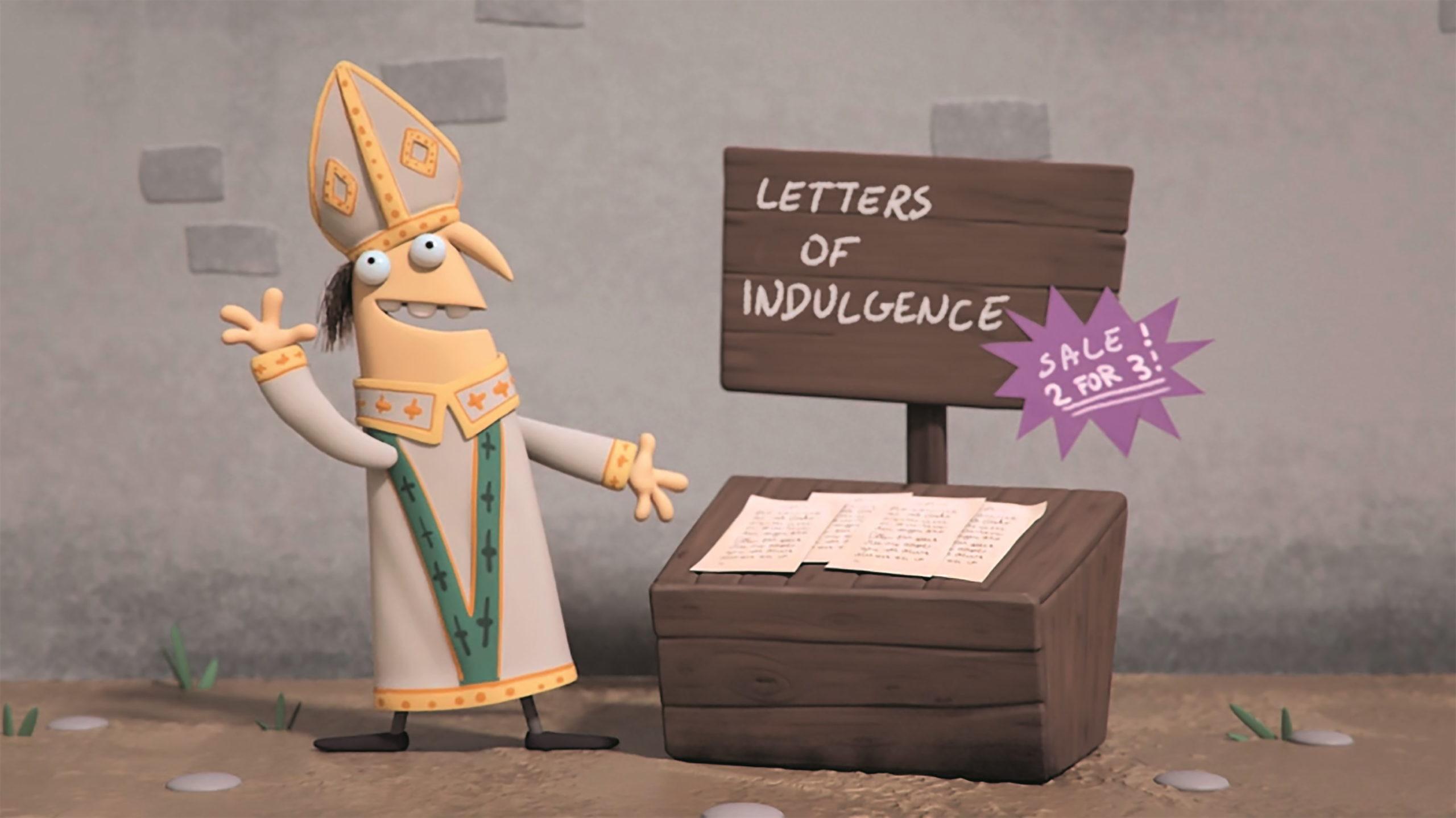 """""""The Story of Martin Luther"""": Für den Look näherte sich Tumblehead der 3D-Animation wie 2D. Dabei orientierte sich das Team an dem Stil des bekannten Animationsstudios UPA."""