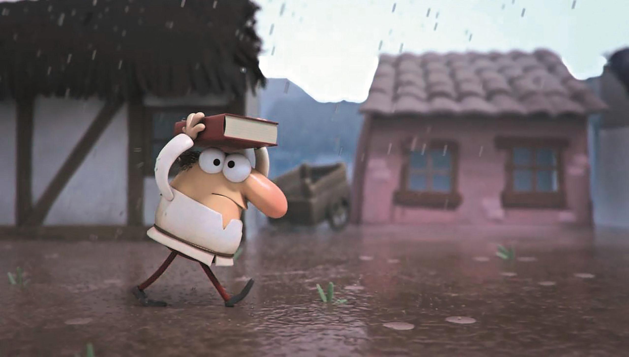 Die Charaktere im Regen zu animieren, bereitete Tumblehead aufgrund der vielseitigen Aufgaben die meiste Freude.
