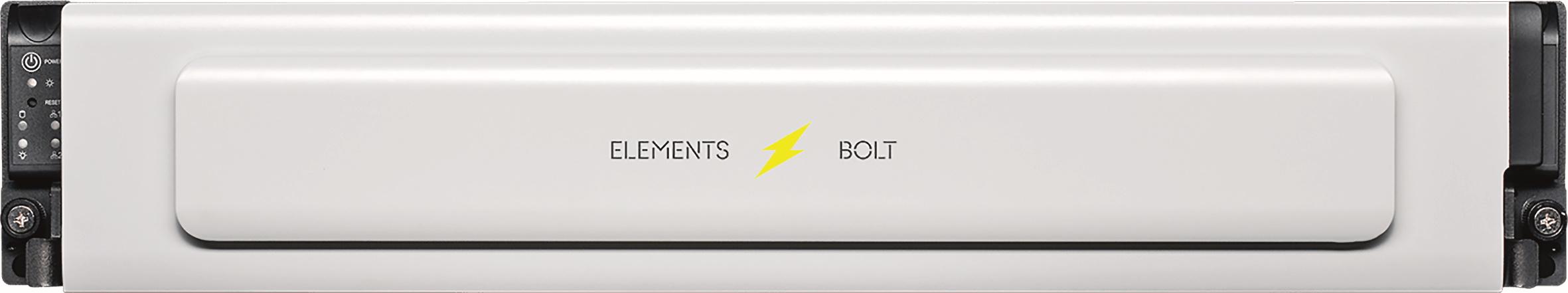 Bolt – eine Kiste voller NVMEs. Schneller geht es zum momentanen Stand der Technik nicht – bis zu 220 Tbyte lagern in einem Chassis mit 2HU.