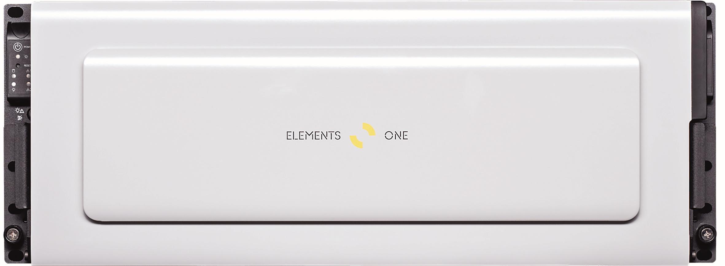 Elements One: Ein Pbyte in einem 12-HU-Setup. Und das mit maximal 10.800 Mbyte/s (2.500 pro Client).