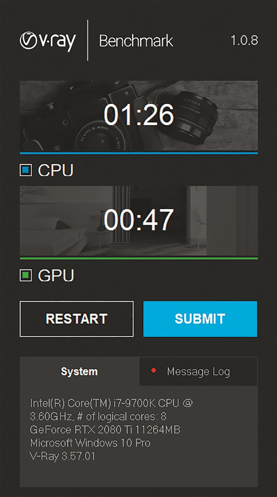 Viel GPU – aber im Vergleich relativ wenig CPU-Power